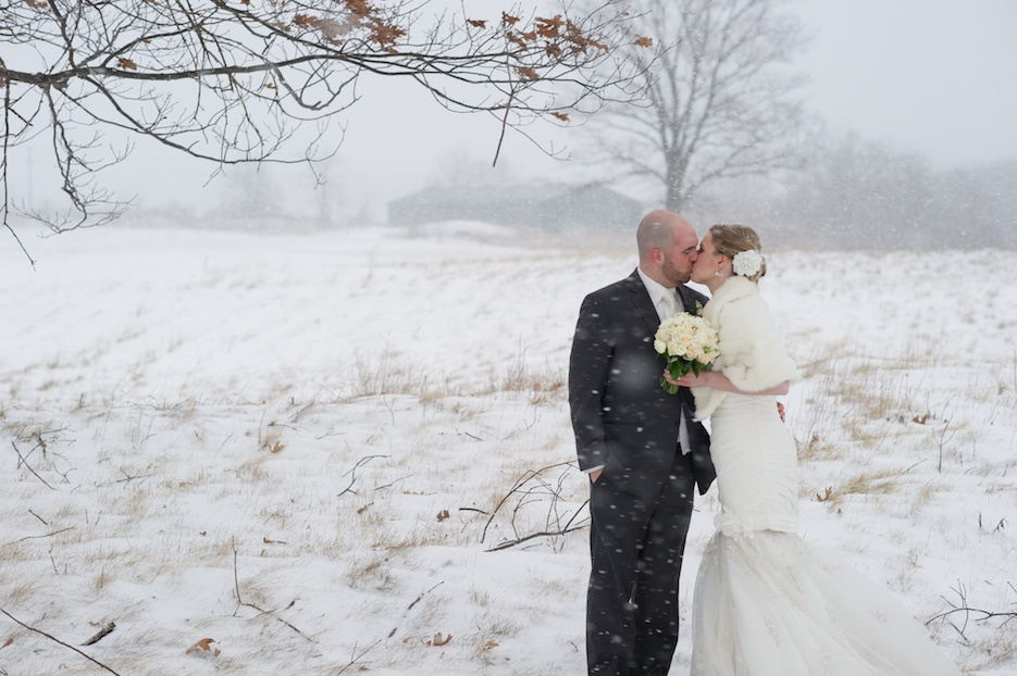 Winter Wedding at FireRock Golf Course