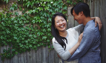 Jowenne & Don's Engagement session in Kensington market and chinatown